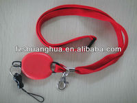 Popular tube lanyard with retractable badge reel