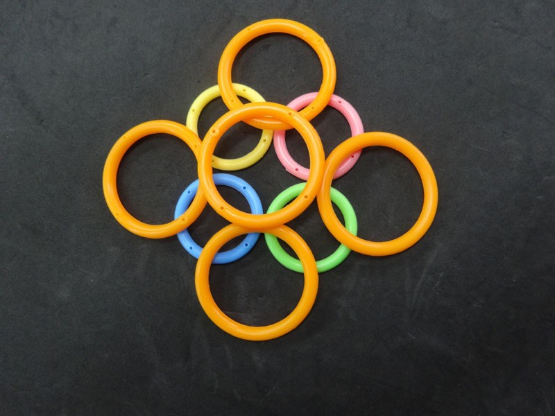 Wholesale Cheap food grade Colored various size silicone rubber o ring with high quality