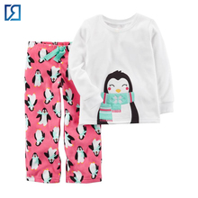Hot Spring Fashion Long Sleeve Kids Wear Child Cloths Children Cute Girls Pajamas Sets