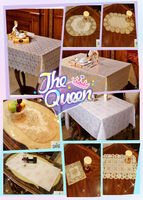 fashionable lace table cloth