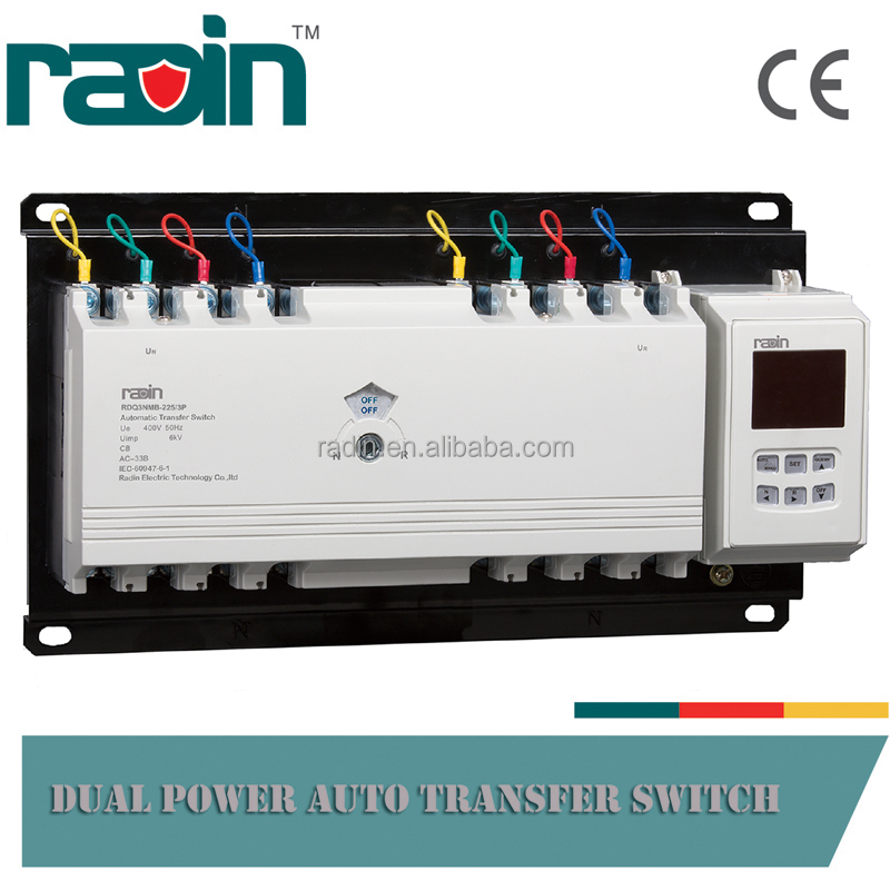 200 amp Automatic Transfer Switch (RDQ3NMB-225)