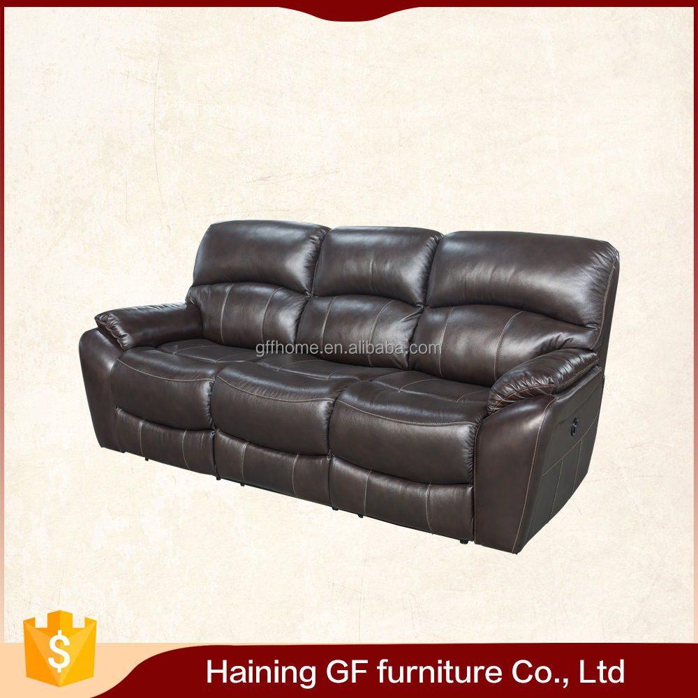 living room generously padded contoured bucket seats double power recliner sofa