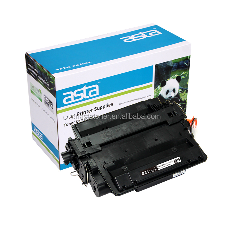 FOR HP CE255X Black Compatible LaserJet Toner Cartridge 55X