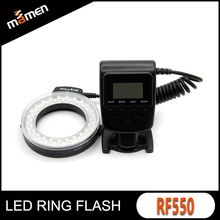Factory 10 years experiences LED ring Flash Light RF-550 for Sony digital Camera