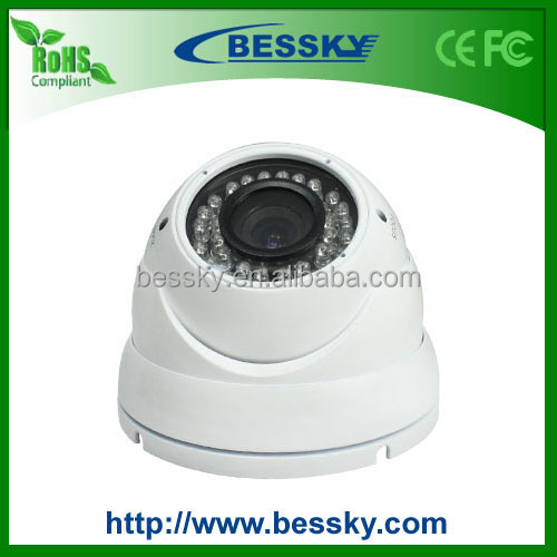 New items in china MarketWifi Dome Camera With Metal Shell 420-1200TVL p2p
