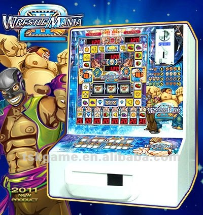 MY-W2 WRESTLEMANIA II slot machine pcb mini game machine