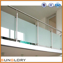 Tempered Glass Deck Railing