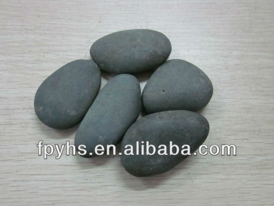 grey landscaping stones