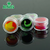 Custom your logo silicone wax container dab jars concentrate bho dab oil container for tabacco pipe stem