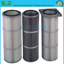 Industrial Cellulose Micron Pleated Suction Compressor Air Filter