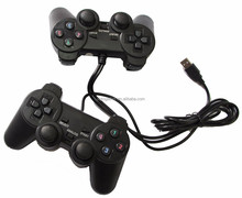 gotogether double USB Gamepad with shocks TGZ-706D supplier& Joystick & Game Controller