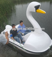 foot pedal water swan boat for kids and adults