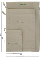 Wholesale Small Drawstring Mesh Bags 100 Cotton Net Gift Pouches Storage Soap Bags