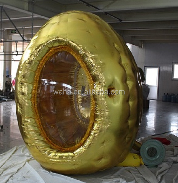 8.5ft/260cm golden inflatable money box/money box inflatable/advertising inflatable box W357
