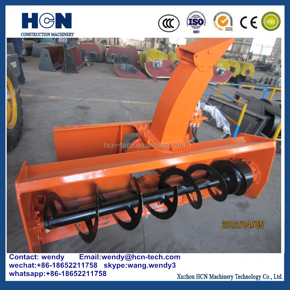 xuzhou HCN 0209 truck mounted snow blower