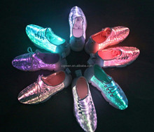New design Wholesale price optical fabric Shining shoes by cigreen