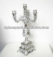 luxury home decor, plated candle stick