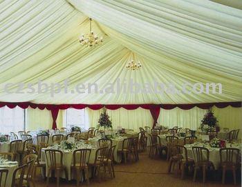 New wedding hall decorations 18x30m buy chandelier for Latest wedding hall decoration