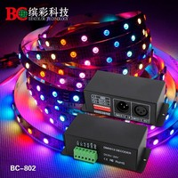 High quality ws2801 signal led dmx pixel controller