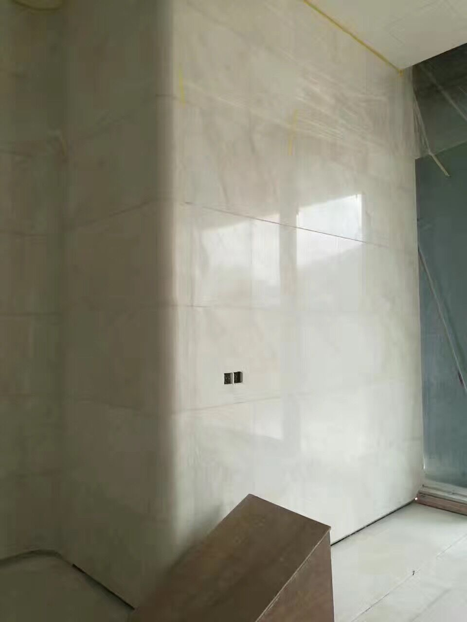 Polished natural high quality white onyx marble stone