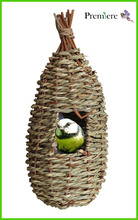 straw bird house