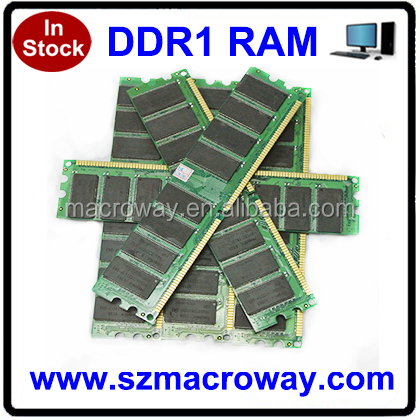 Retail products 64mb*8/16c 1gb ddr memory ram 400mhz