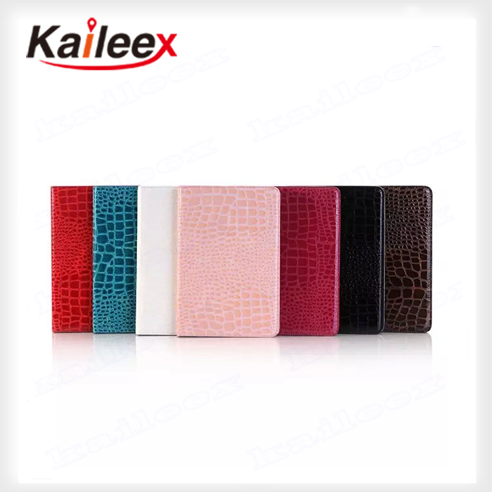 Cheap Price Kickstand Wallet Case For Ipad mini 4 Crocodile Pattern Case
