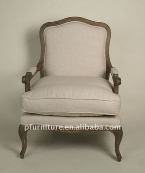 Oak lounge chair PFC155