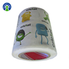 Private Printing Roll Adesive Cricket Bat Packing Sticker labels