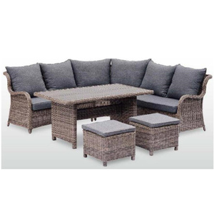 7pcs outdoor furniture rattan garden sofa all weather wicker easy cleaning backyard rattan sofa