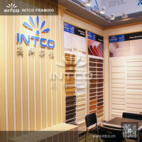INTCO PS waterproof 3D wood wall panel