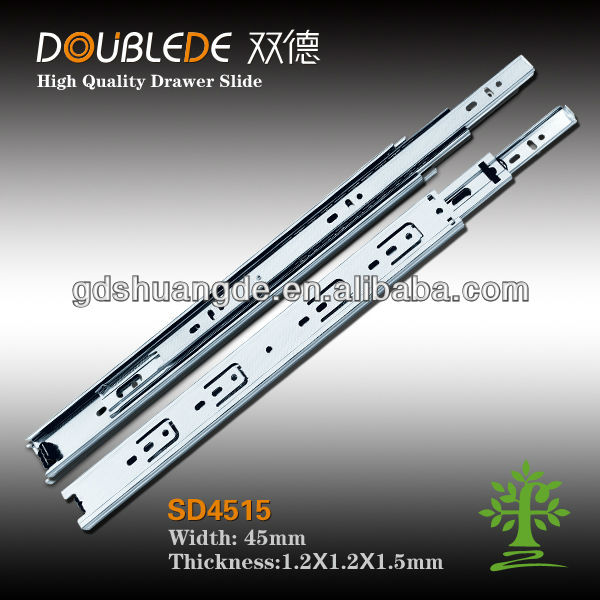 Hot sale ! New product drawer slide parts/ball bearing drawer slide