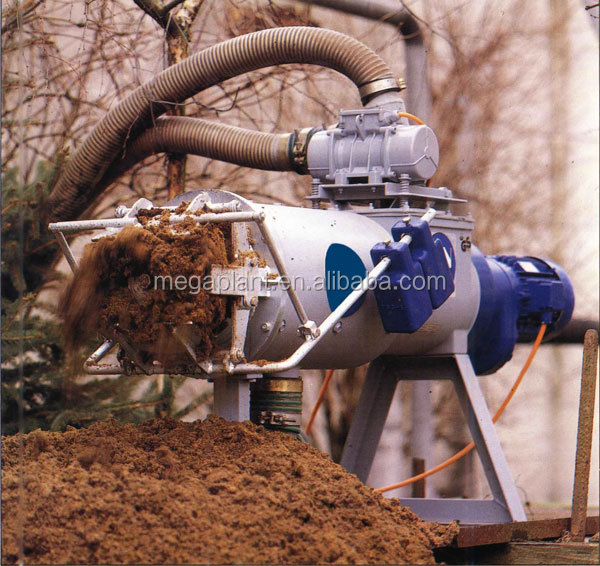 Compost Making Machines/ Pig/Chicken Dung/Cow Manure Dewatering Equipment