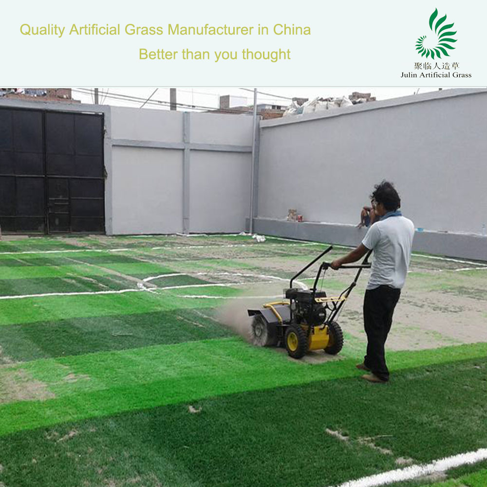 Gasoline Carpet Cleaning Machine Artificial Grass Turf Sweeper Prices