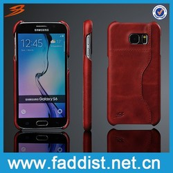 For samsung galaxy s6 case,for samsung leather case,leather back cover case