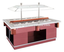 refrigerated Portable salad bars for restaurant