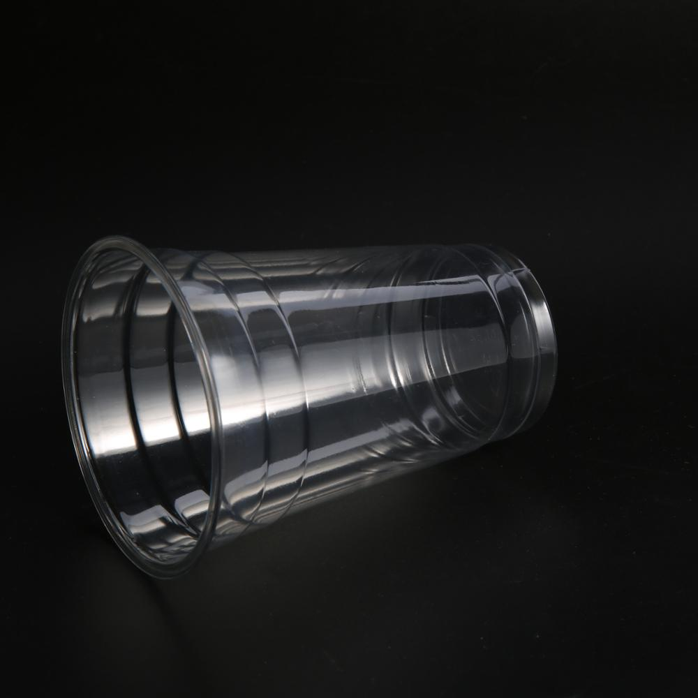 Widely Used Superior Quality Clear Transparent Pp Disposable Plastic Cup With Customized Logo