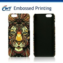 PC Case for iphone 6 plus from China supplier,PC Case with Embossed pattern Fancy