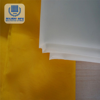 Woven monofilament polyester screen mesh for screen printing
