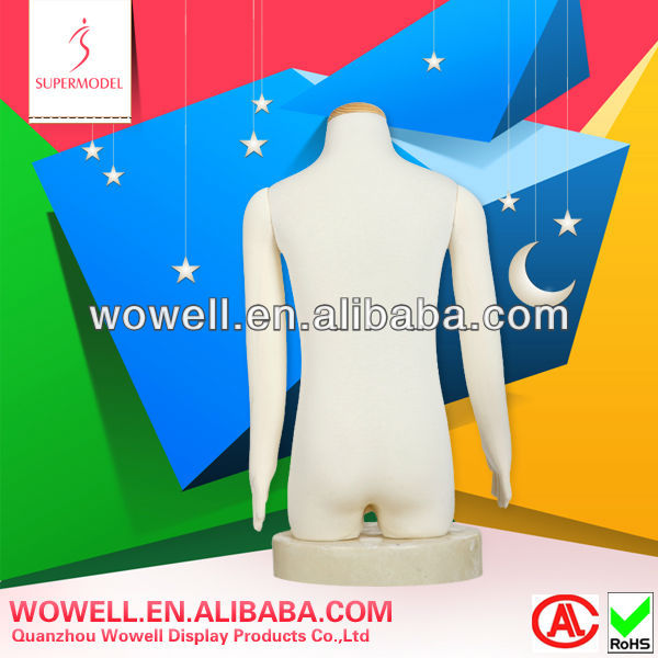 High quality new style soft torso kids models dummy