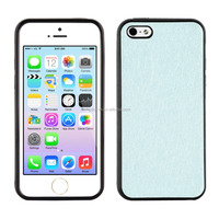 Wholesale slim and special brush polish PU and TPU case for iPhone 5 or 5s