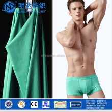 Free sample Hot sale Shantou supplier cheap for underwear use blue color wholesale lycra fabric