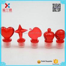 Cheap price plastic cork stopper for wine bottle wholesale