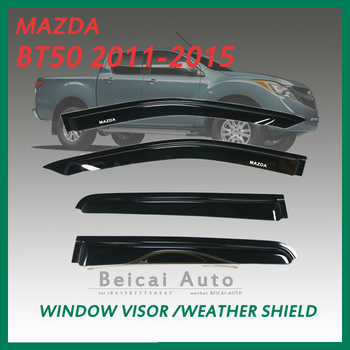 Weathershields for Mazda BT50 2011-2015 Window Door visor