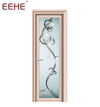 Electrophoresis champagne color aluminum tambour kitchen opening entrance door