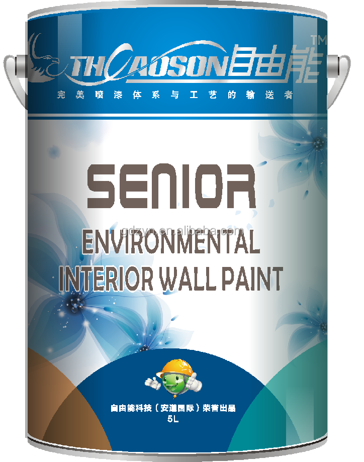 Fluorocarbon wall paint