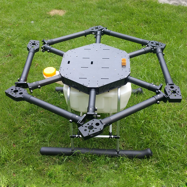 FPV Hexacopter 6 Axis Carbon Fiber Plant Protection Drone Wheelbase 1600mm for Agricultural Production