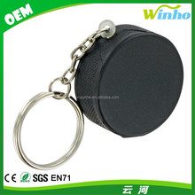 Winho Mini Hockey Puck Stress Reliever Keychain