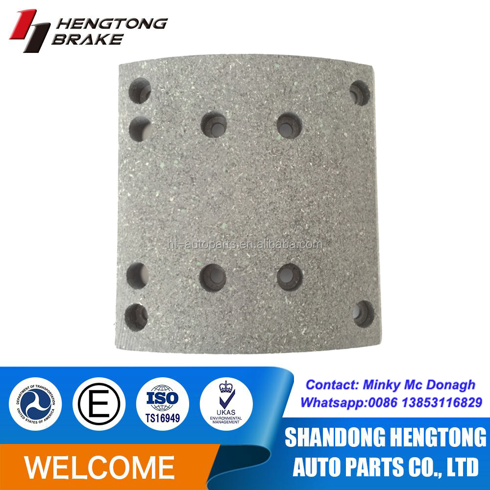 brake linings/spares parts/HOWO