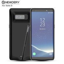 2018 New Product External Backup Charger Case Slim Power Case for Samsung galaxy Note 8 portbal Battery Case